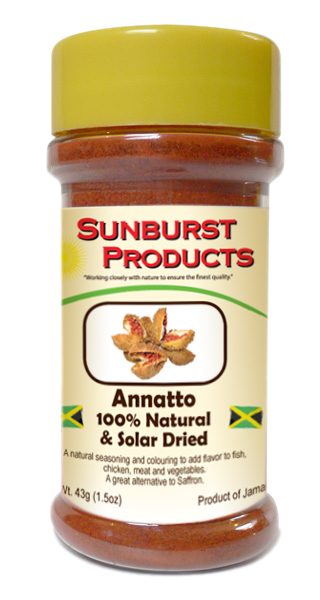 Annatto Solar Dried