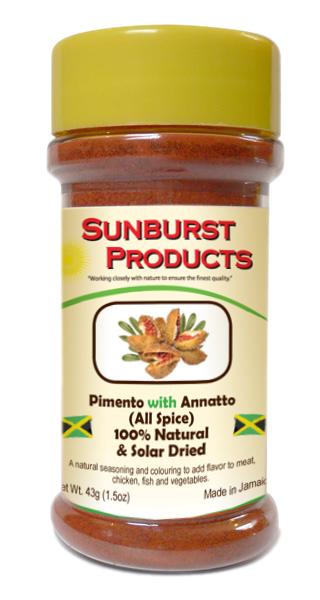 Annatto with pimento